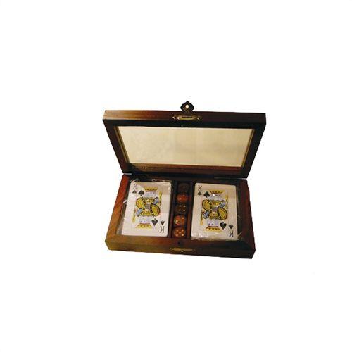 36011 Caixa Porta Cartas - Madeira Vidro