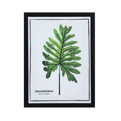 12941 Tela Impr C/ Mol Folhas Philodendron