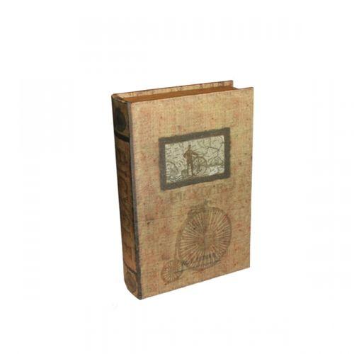 11062 LIVRO (BOOK BOX) - 2 PEÇAS - OLDWAY - 33X22CM