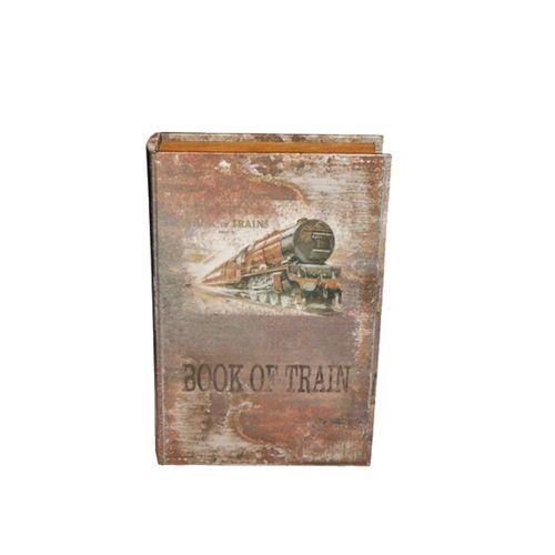 11061 LIVRO (BOOK BOX) - 2 PEÇAS - OLDWAY 33X22CM