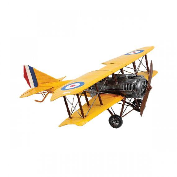47117 Miniatura de Avião Amarelo