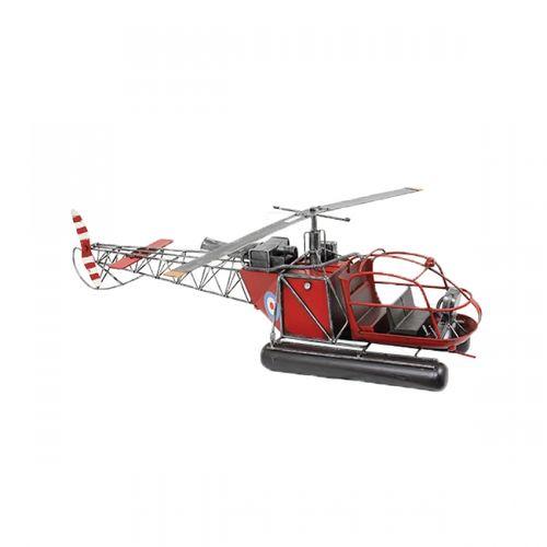 47135 Helicóptero Vermelho
