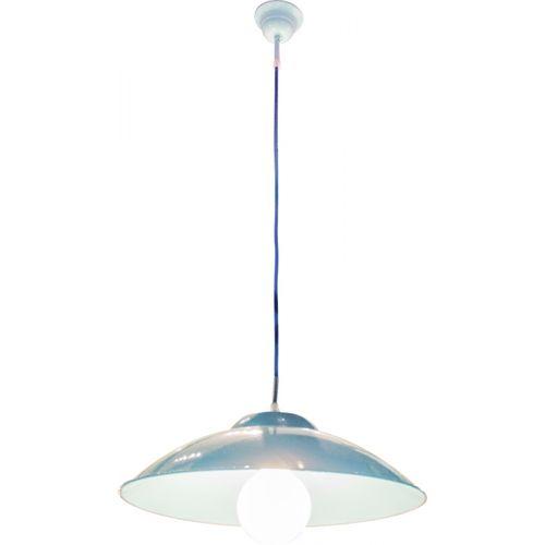 84023 Luminária Tradicional Teto Azul