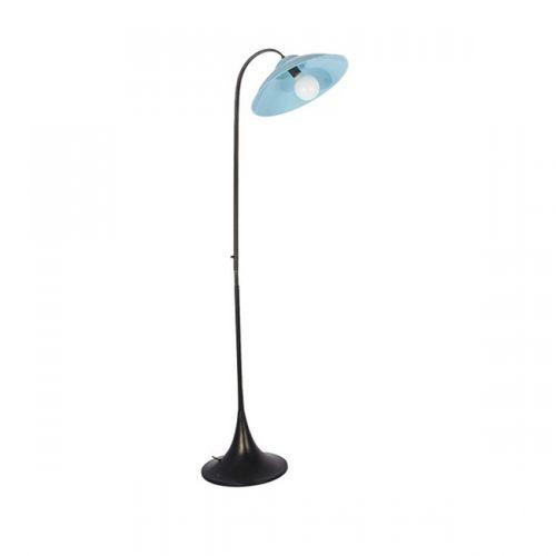84021 Luminária Led de Chão - Azul Claro