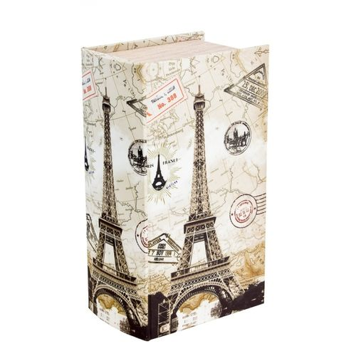 11210 Caixa Lenços em Seda Eiffel Carimbos