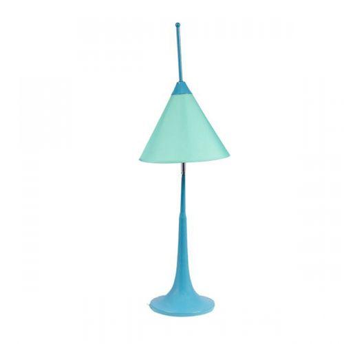 84009 Abajur Cup Móvel - Azul Claro - Baixo