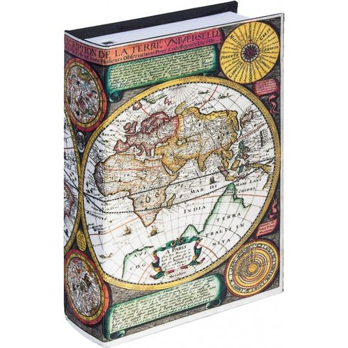 11227 BOOK PHONE - MAPA MUNDI - CORES - OLDWAY - 22x15x6cm
