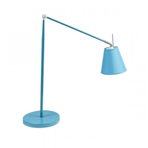 84017 Luminária de Mesa Regular Longa - Azul