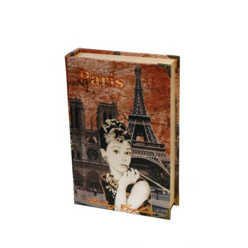 11101 BOOK BOX Cj 2pc SEDA PARIS AUDREY OLDWAY 33x22x7cm