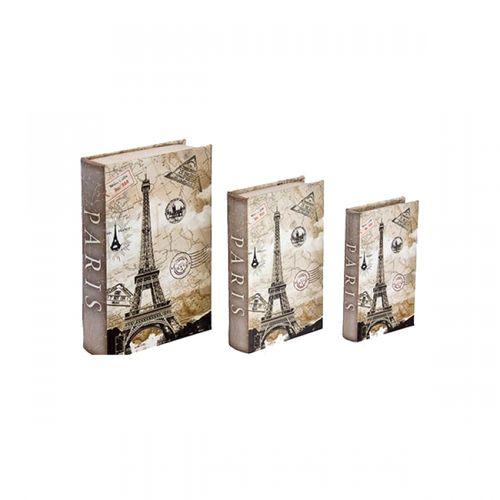 11217 BOOK BOX CJ3PC SEDA EIFFEL CARIMBO PASS OLDWAY 30x21