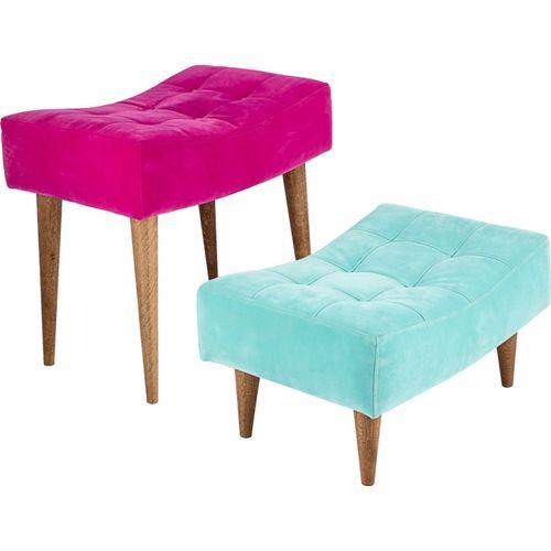 34022 Puff 2 Peças - Rosa e Azul Tifany