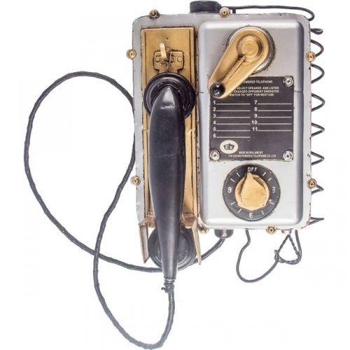 14109 Telefone Vintage em Metal