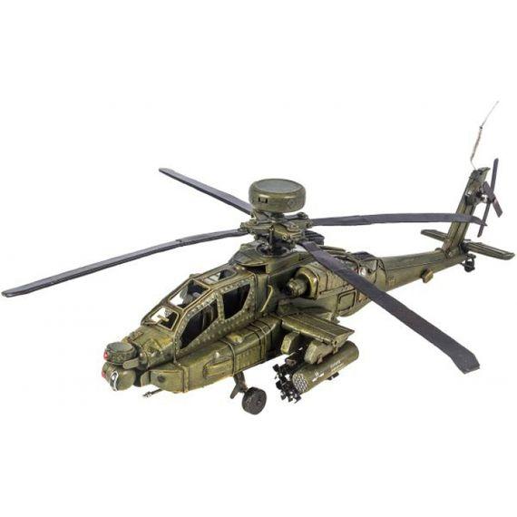 14103 Helicóptero Verde em Metal