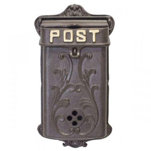 39050 Caixa Correio Post Metal Parede
