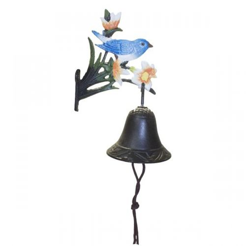 39046 Sino Parede Suporte Pássaro Azul