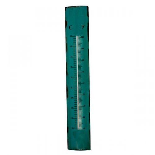 19236 Termômetro em Metal Azul