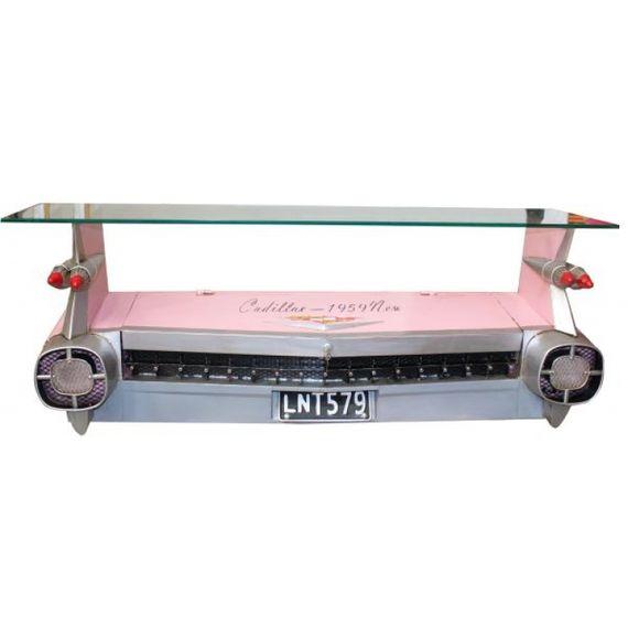 14120 Móvel de Parede Traseira de Carro Rosa