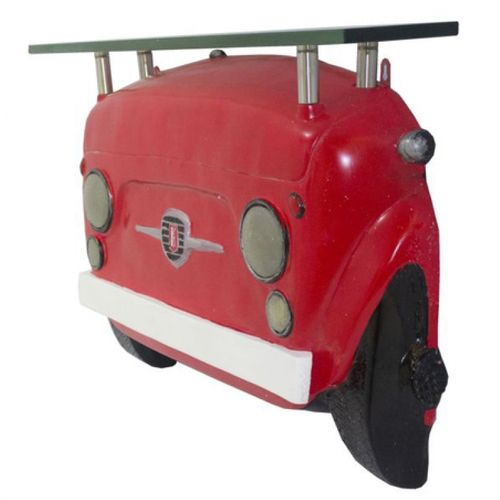 65105 Mesa Frente Fiat 500 Vermelho