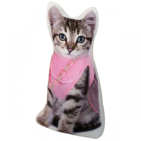 115013 Peso Para Porta Gato Lenço Rosa
