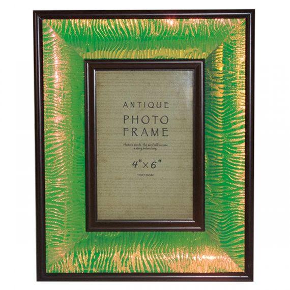 11326 Porta Retrato Verde Brilho
