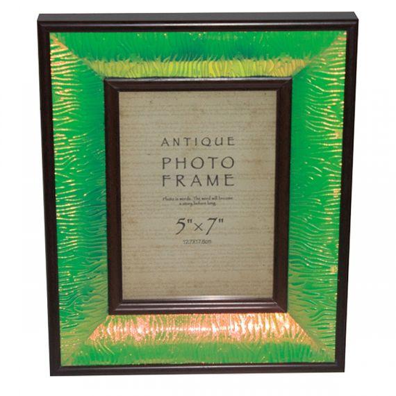11325 Porta Retrato Verde Brilho