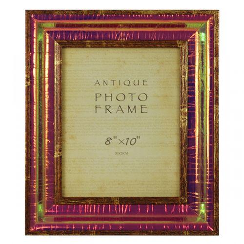 11318 Porta Retrato Dourado Bilho Claro