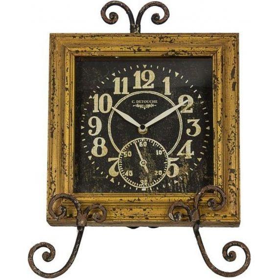 43108 Relógio Mesa / Parede Amarelo