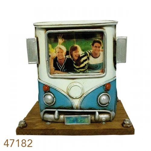 47182 Porta Caneta Frente Kombi com Porta Retrato