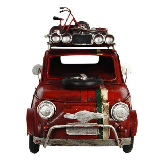 47191 Carro Vermelho em Metal N9