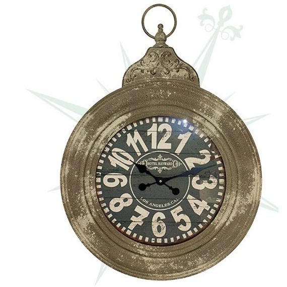 53083 Relógio Parede Ferro Redondo