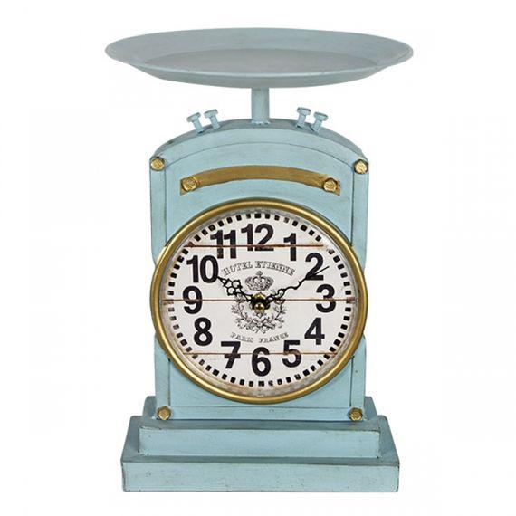 2336 Relógio Balança Vinta Azul