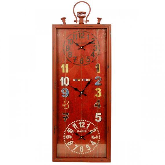 2344 Relógio de Parede Mundial Tripred