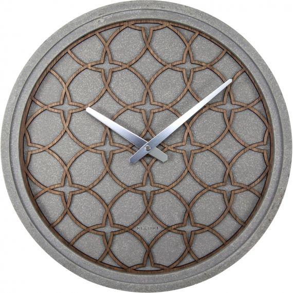 153025 Relógio Parede Concrete Love Nextime