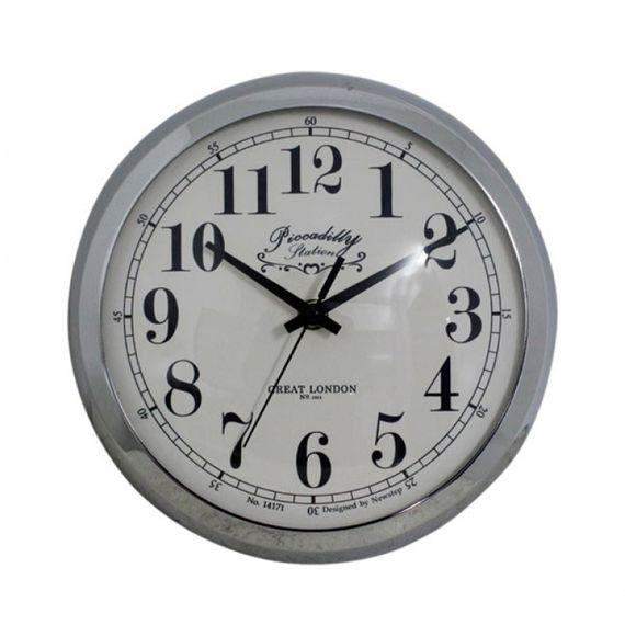 135013 Relógio de Parede Anne Silver