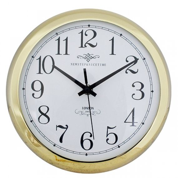 135014 Relógio de Parede Anne Gold