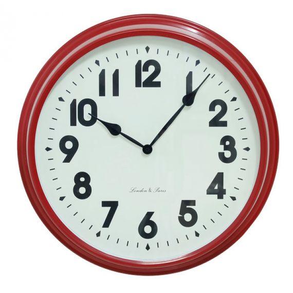 135021 Relógio de Parede Sue Red