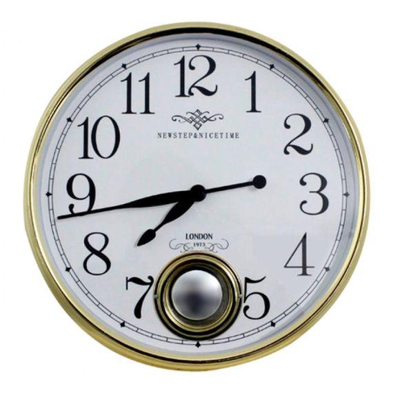 135005 Relógio de Parede Marie Gold