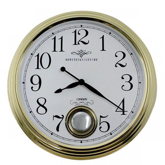 135008 Relógio de Parede Edith Gold