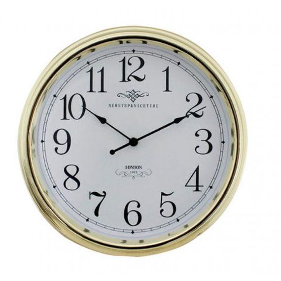 135011 Relógio de Parede Blanche Gold