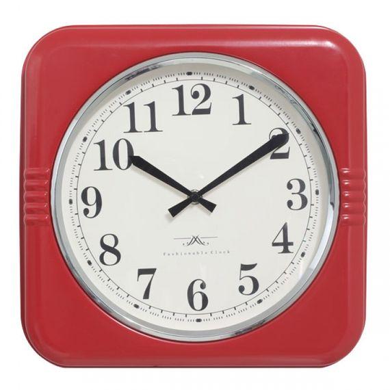 135022 Relógio de Parede Mia Red