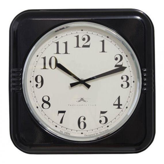 135029 Relógio de Parede Mia Black