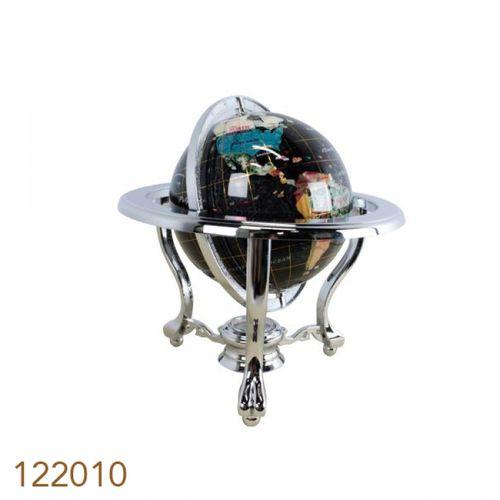 122010 Globo Tripe Black Silver Mini D=15