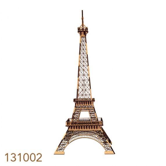 131002 Torre Eiffel Réplica Quebra- Cabeça