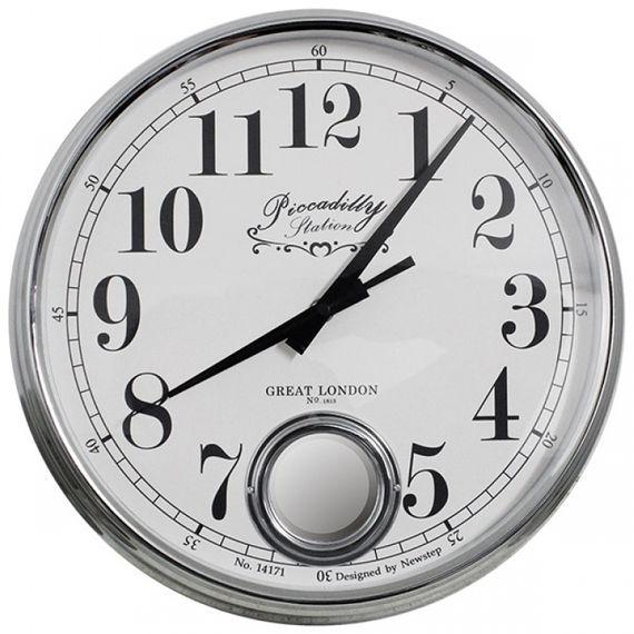 135004 Relógio de Parede Marie Silver