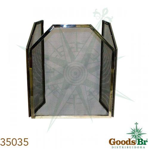 35035 Proteção de Lareira Inox/Tela