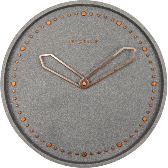 153026 RELOGIO PAREDE CROSS GREY NEXTIME D=35cm