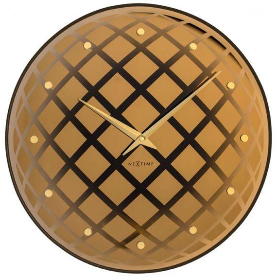 153044 Relógio Parede Pendula Round Copper Nextime