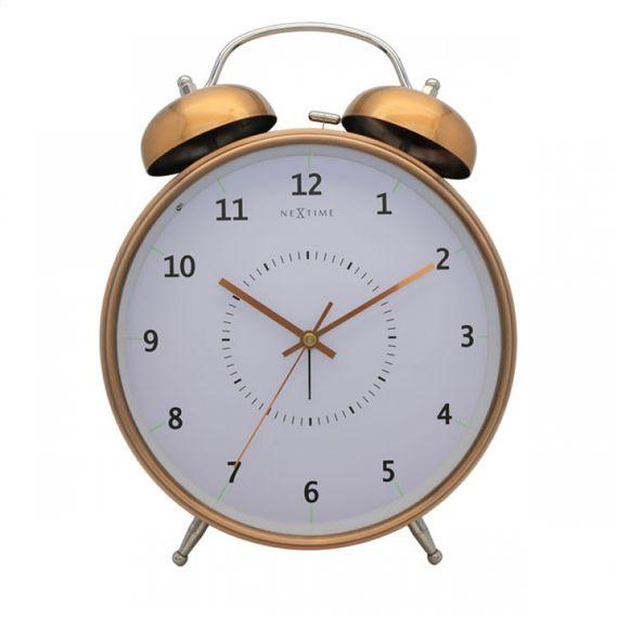 153063 Relógio Mesa Despertador Copper Nextime