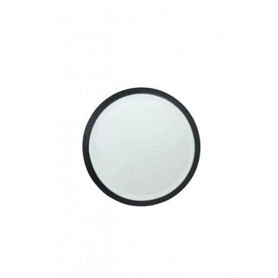 152202 Espelho Redondo MDF Black