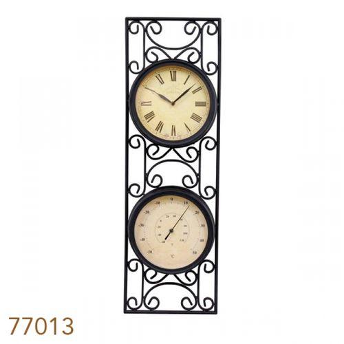 77013 Relógio / Termômetro Moldura Arabesco
